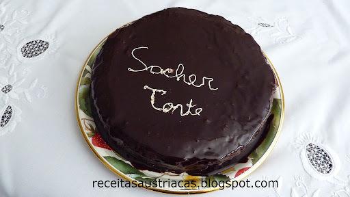 TORTA SACHER (Receita Vienense) - SACHERTORTE