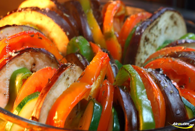 assar pimentos no forno