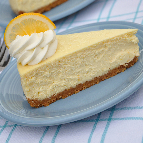 Cheesecake de limão fácil