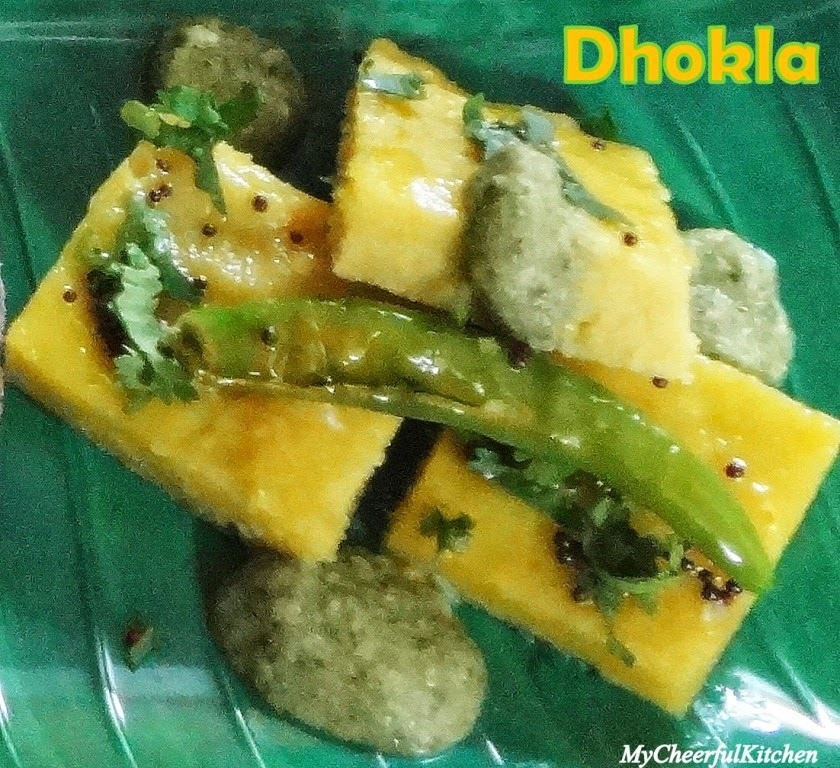 Instant Dhokla