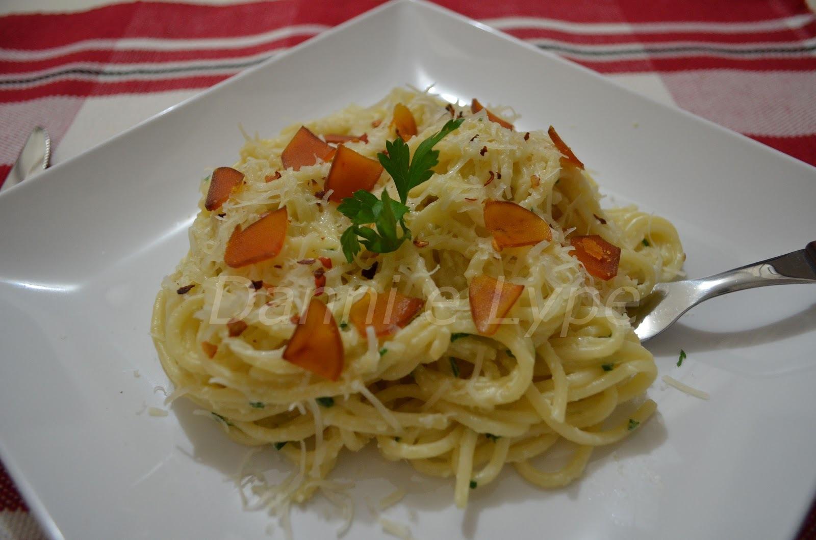 Espaguete com Bottarga