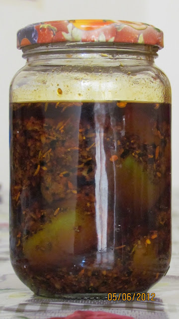 Mango Pickle ( North Indian style )