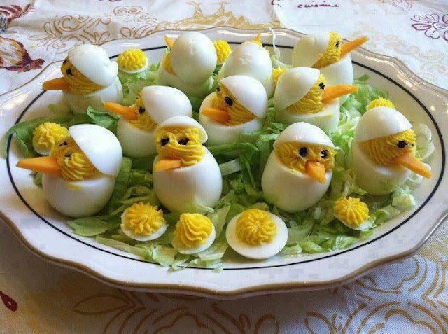 Eu Testei e... Pintinhos de Ovos
