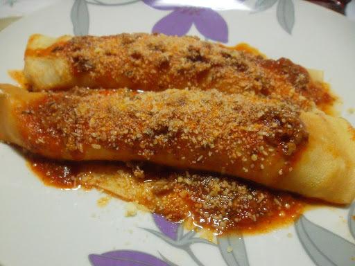 panquecas carne de sol com requeijao