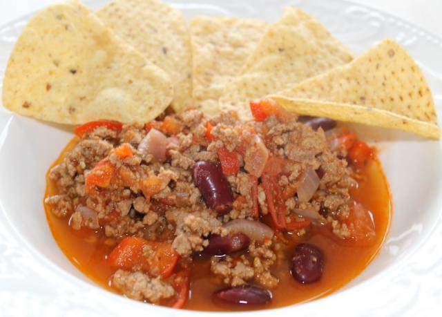 Chili con carne : un bon petit plat Texan :)