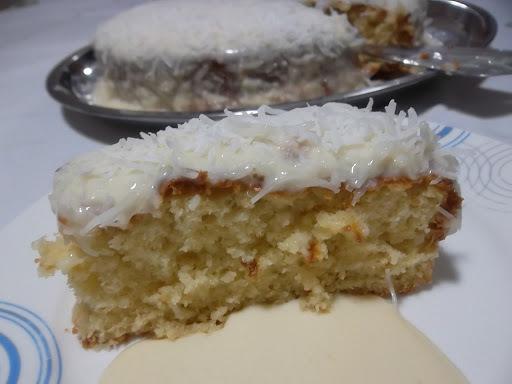 de cobertura de bolo com açucar de confeiteiro sem gordura