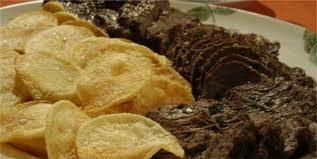 Rosbife ao Forno com Batatas