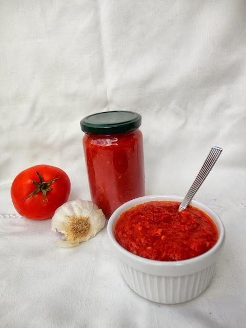 Salsa de Tomate Frito Casera. II Ciclo Recetas Aprovechamiento.