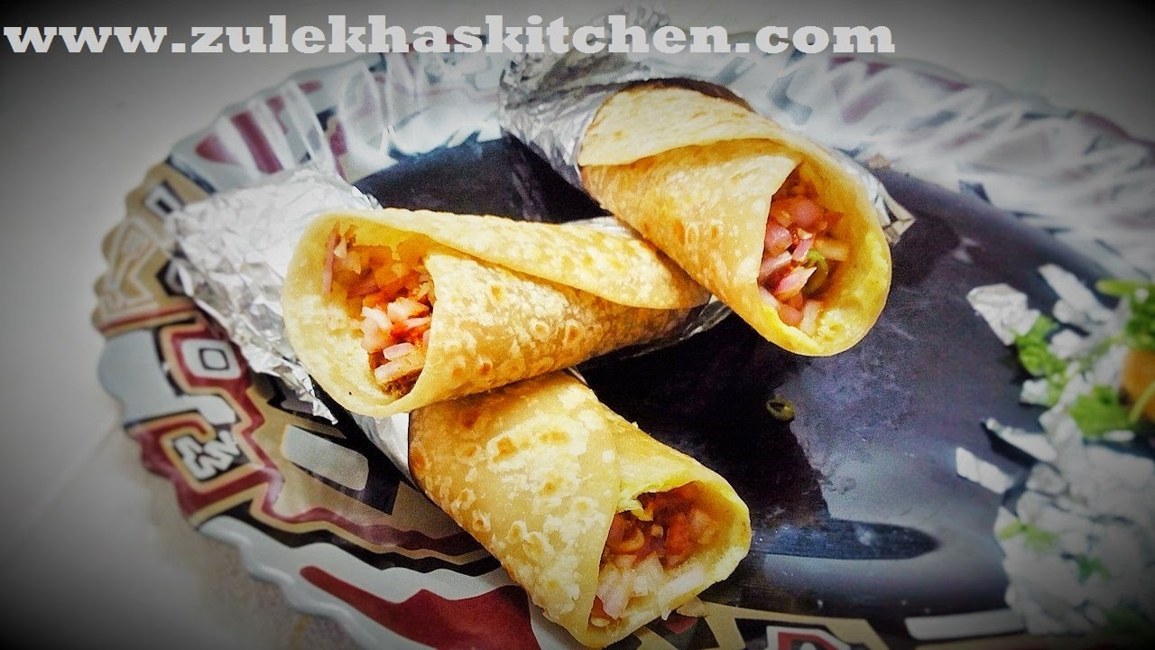 Mutton Frankie Recipe