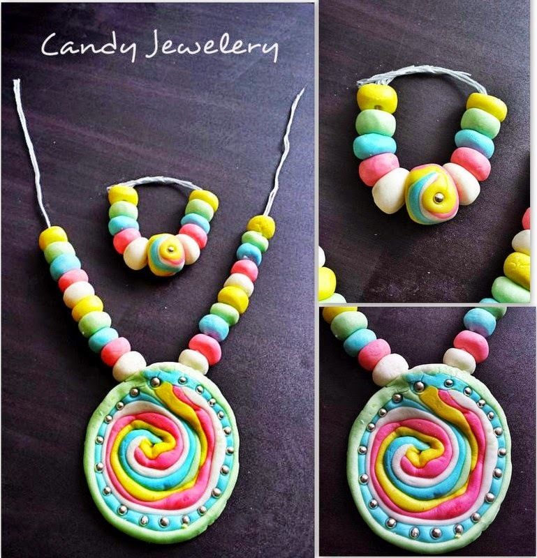 Homemade Candy Jewelery for Kids