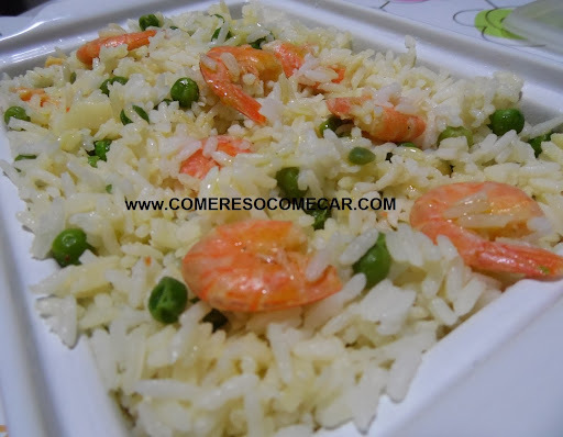 camarão pré cozido ao alho e oleo