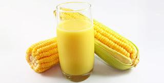 de suco de milho verde natural com leite condensado