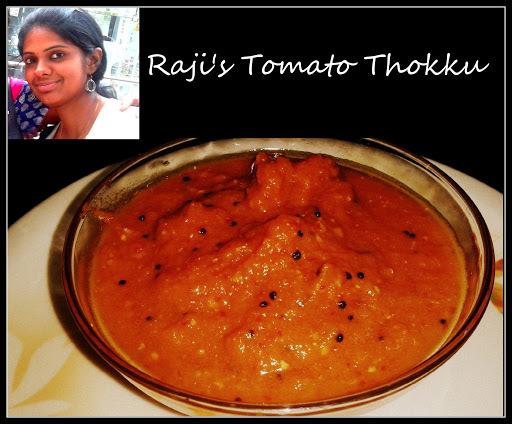 Raji's Tomato Thokku