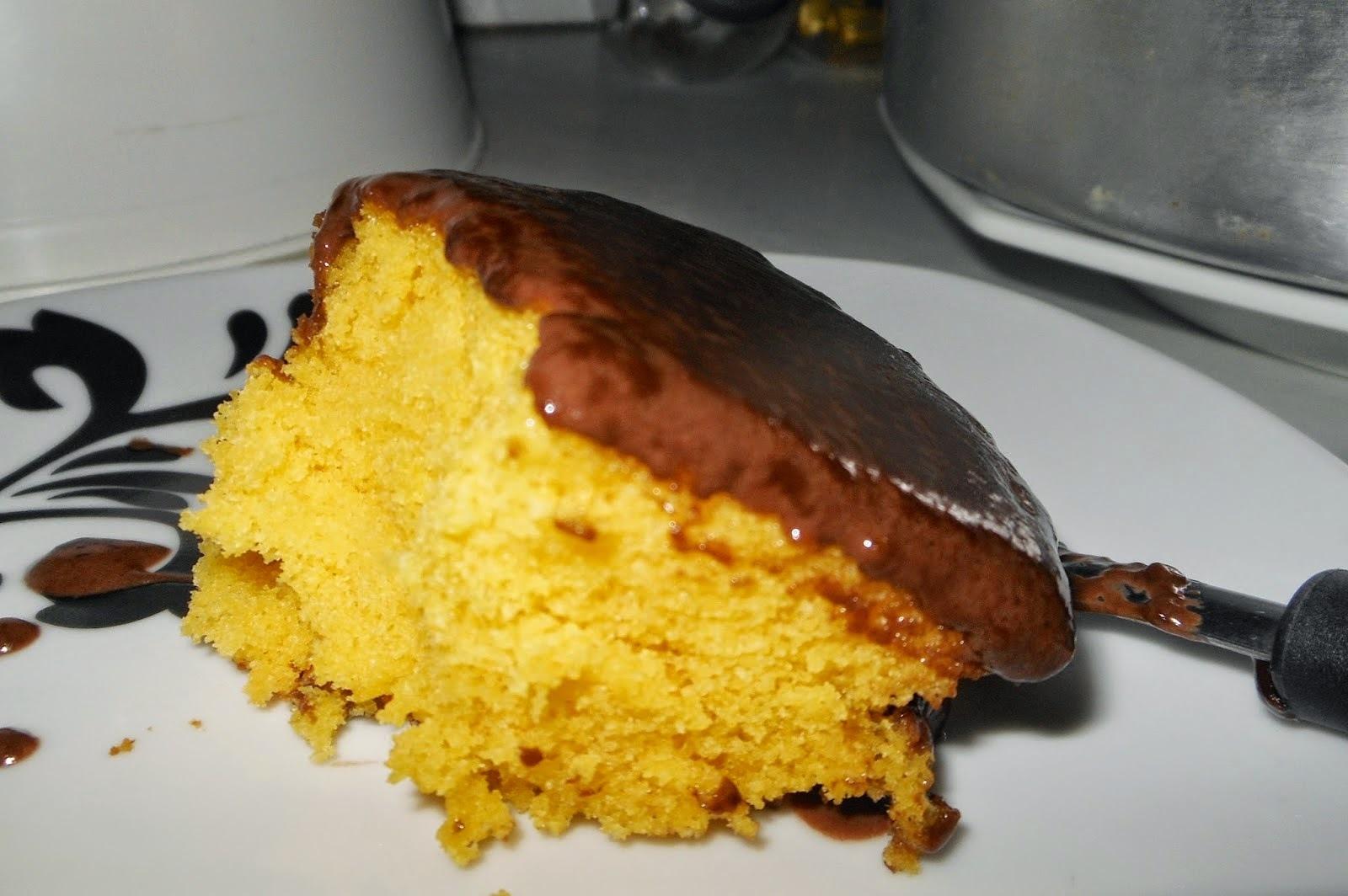bolo de cenoura fofinho e cremoso