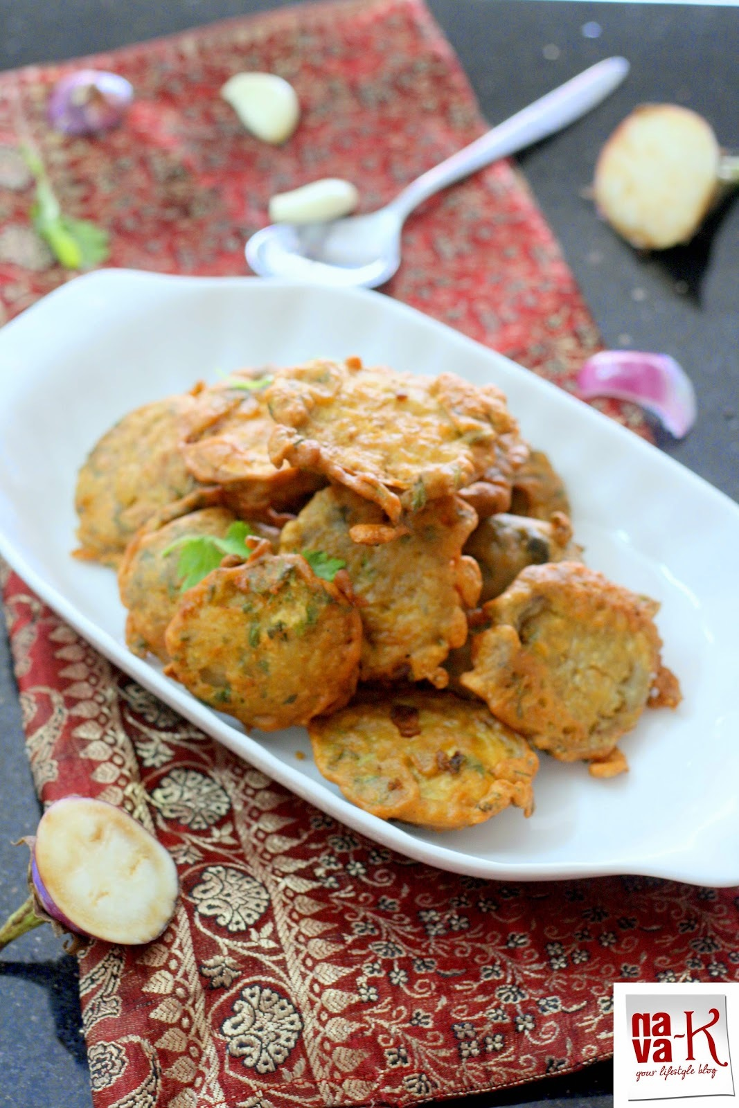 Fried Masala Brinjal