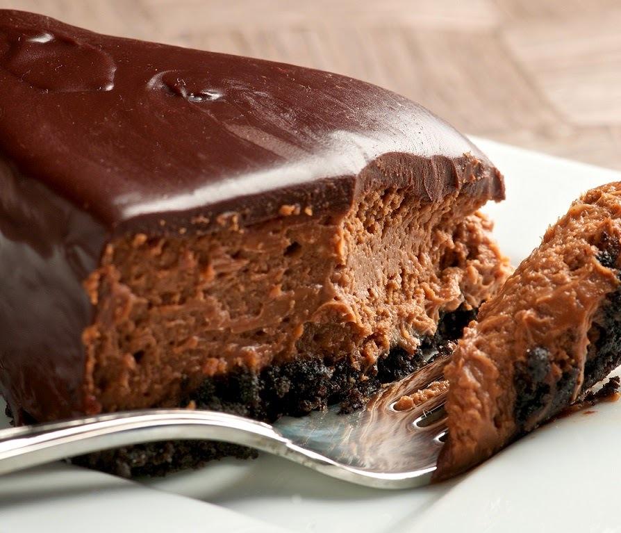 Τάρτα oreo με τριπλή σοκολάτα