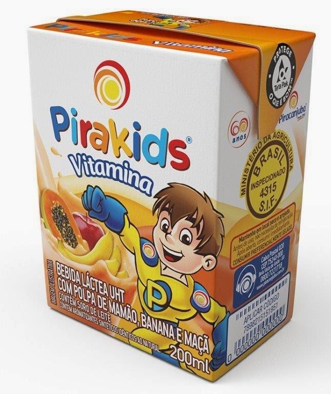 Piracanjuba lança Pirakids Vitamina