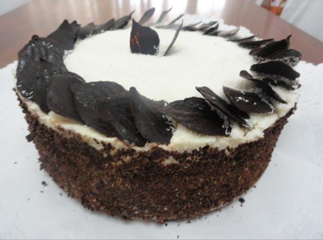 pionono como torta de cumpleaños