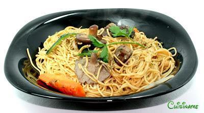 Yakisoba | Cocina Oriental | Receta de Yakisoba con Setas Shitake