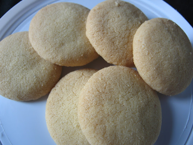 of home made biscuits of maida in oven