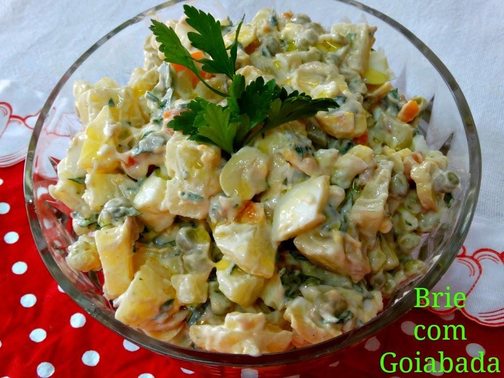 Salada de Maionese de Alho - # Páscoa do Brie 2014