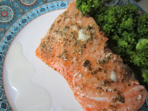 salmão no forno sabor intenso