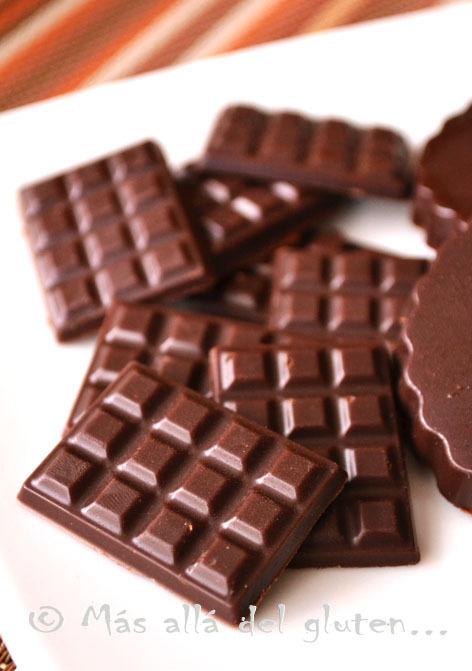 Chocolatinas Caseras (Receta GFCFSF, Vegana, RAW)