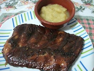 costela de porco ana maria braga com molho de alho