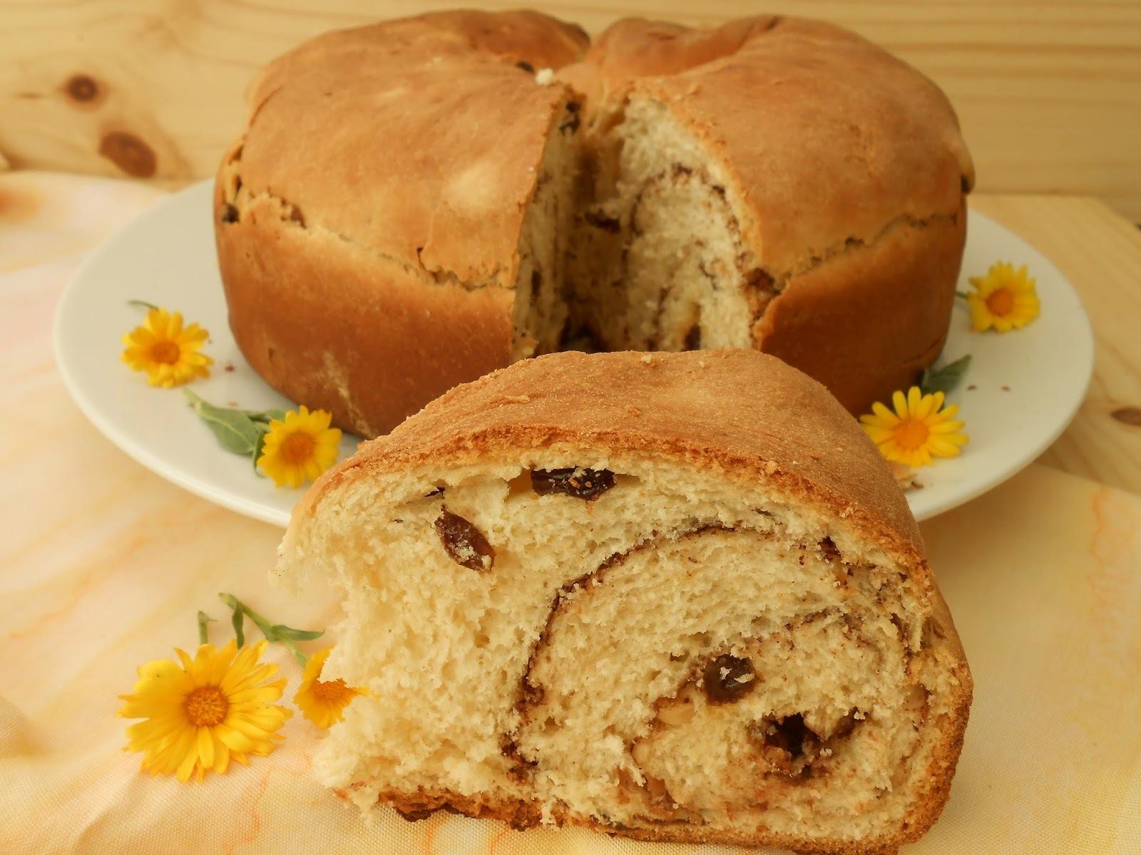 Presniz (dulce con forma de espiral)