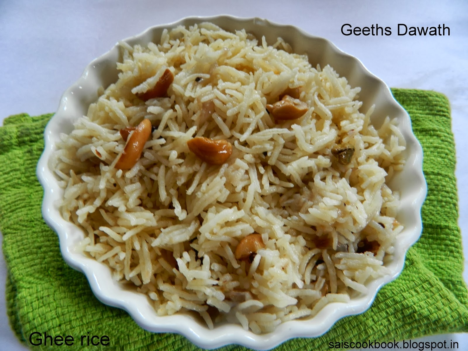 Ghee rice 2