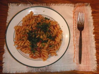 Tomato and Ham Pasta
