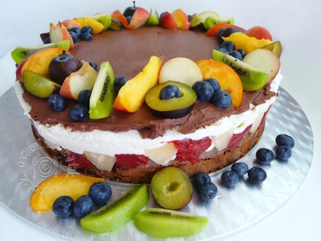 Veľká letná torta