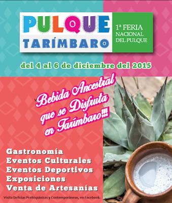 Organizan la 1a. Feria Nacional del Pulque de Michoacán.