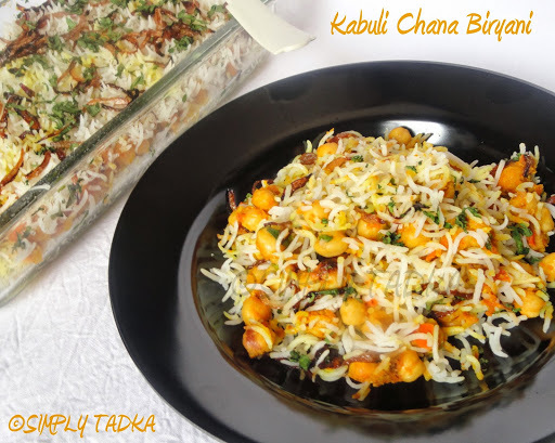 kabuli chana curry for rice