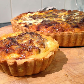 Caramelised Onion and Feta Tart