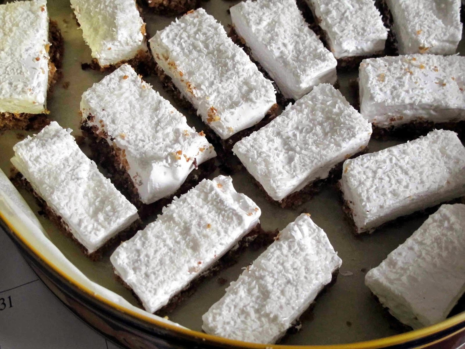 Tony's Marshmallow Slice