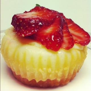 Mochi Cheesecake Minis