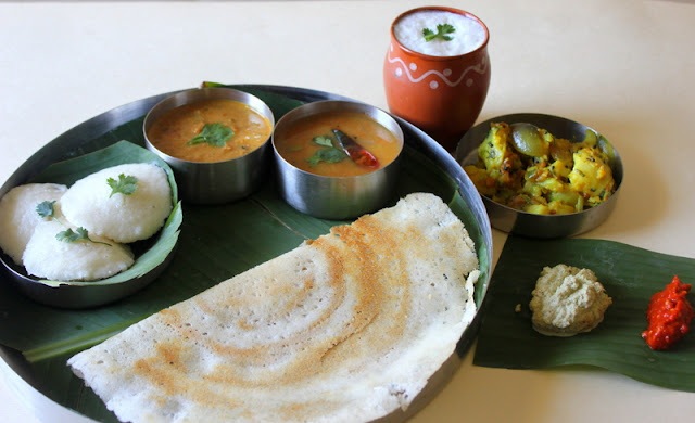 Tomato Kurma.. with Idli / Dosa