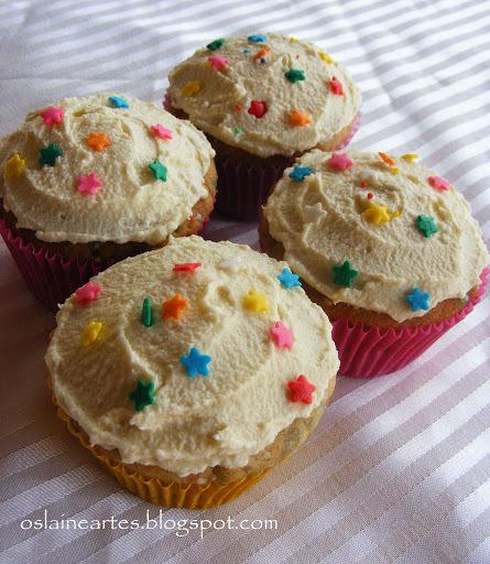 Cupcakes para o dia das Crianças