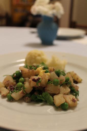 Batatas e Decoração