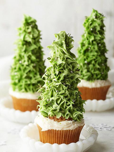 árvores de natal comestivel e decoração de natal