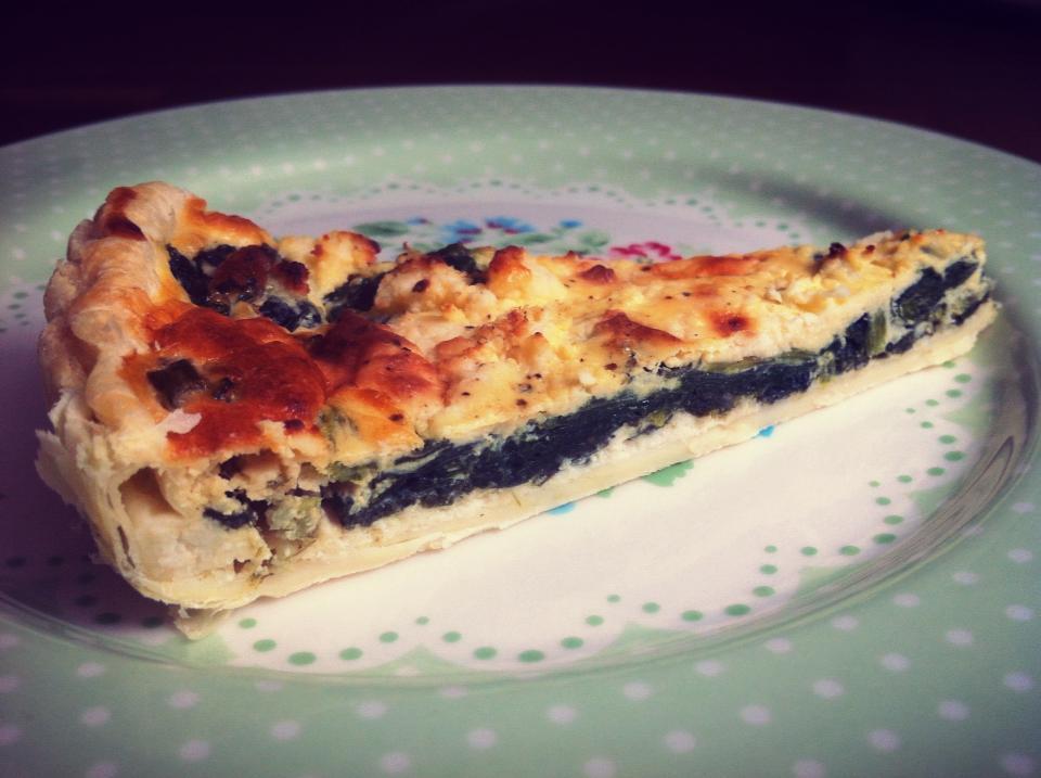 francúzsky koláč quiche