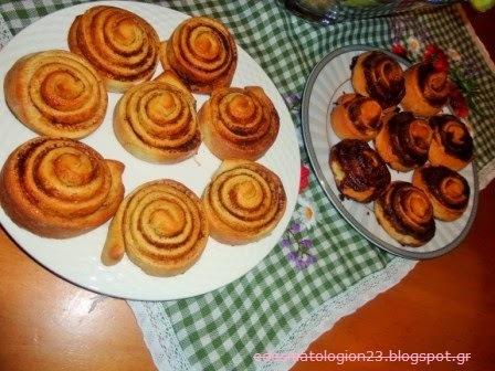 Γλυκά ψωμάκια γεμιστά…