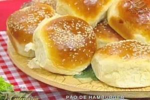 de pão de hamburguer com gordura vegetal