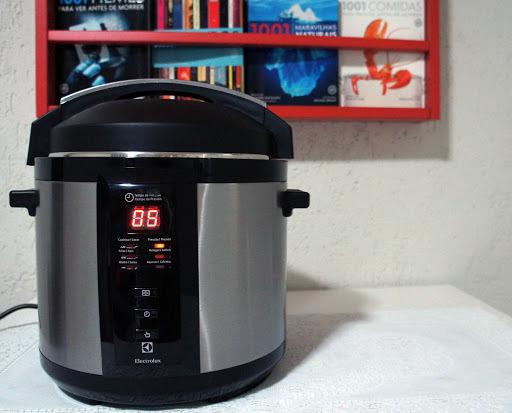 como fritar batata na panela de pressão eletrica