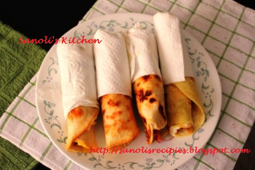 SIMPLE EGG ROLL IN KOLKATA STYLE