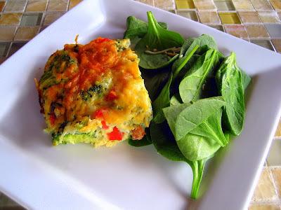 de omelete feito com farinha de trigo