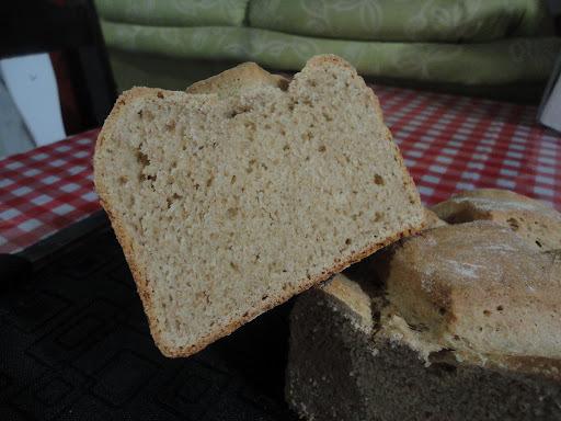 Pão caseiro do sítio integral