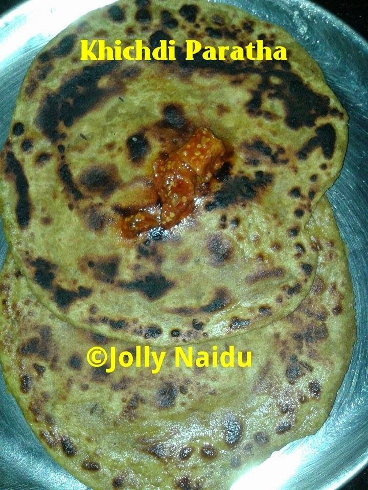 Leftover Khichdi Paratha