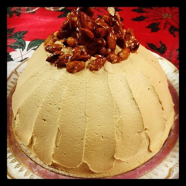 Zucotto (Torta Florentina de crema)